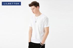 【满299减40】【lilbetter】纯色力量短袖T恤