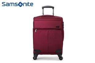 Samsonite/新秀丽高端商务拉杆箱时尚软箱万向轮行李箱