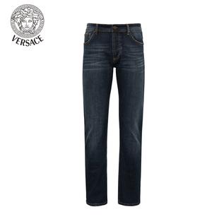 Versace男牛仔裤